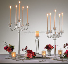 MH-TZ0188 hot wedding crystal candelabra on sale