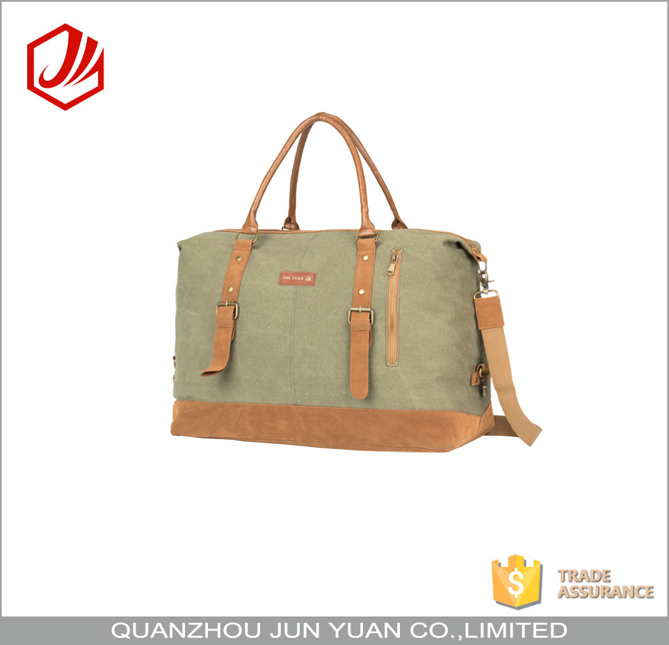 Customization oem military canvas duffle bag