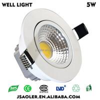 5w 10*10*8cm cob led led floor lamp led ceiling light football ceiling light