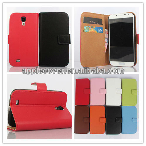 Color Pattern Mobile Phone Cases for case for samsung cell phone Stand Pouch PU Leather Material Multiple Colors