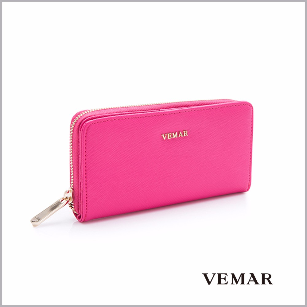 Modern Design Colorful Lady Wallets Purse With Card Slots