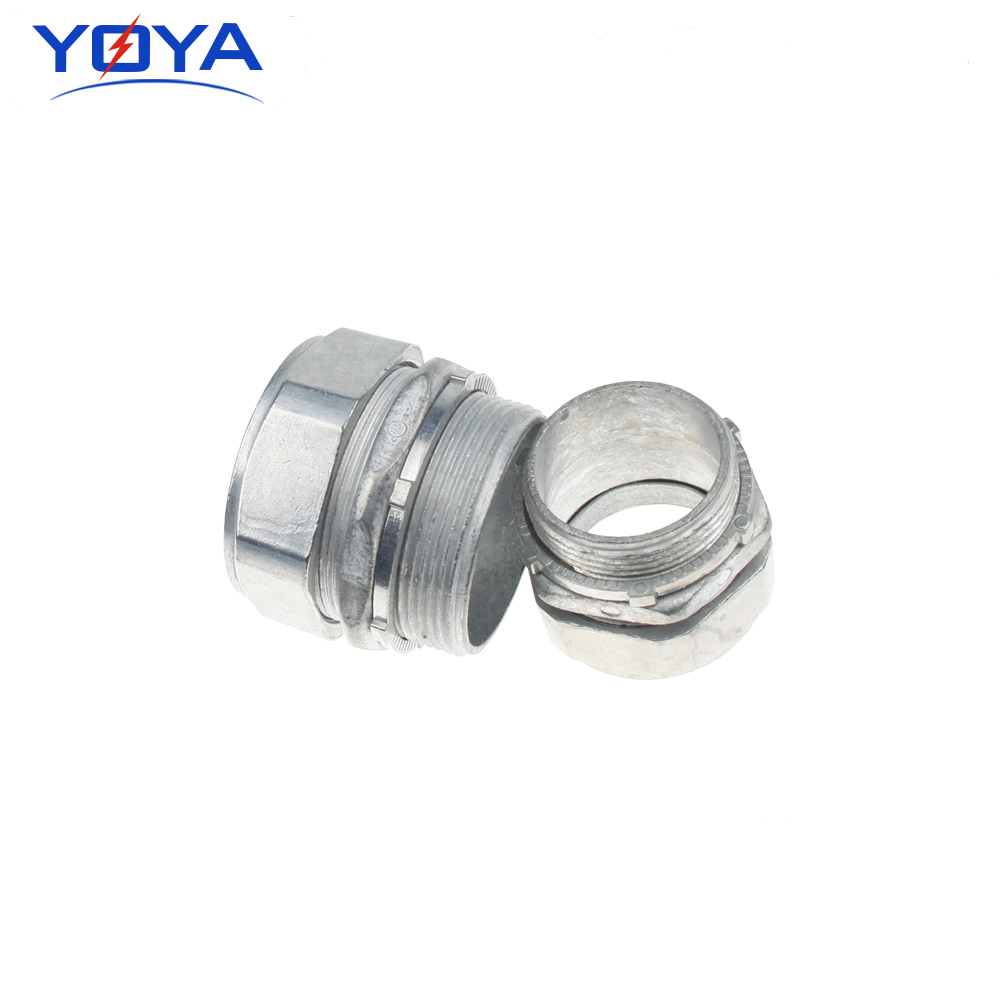EMT zinc die casting connector/electrical compression connector