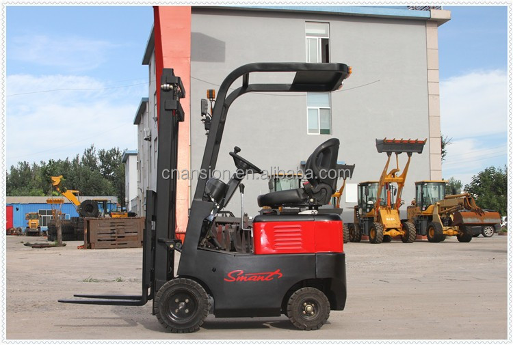 750kg 48V 140Ah battery power-driven small forklift for sale