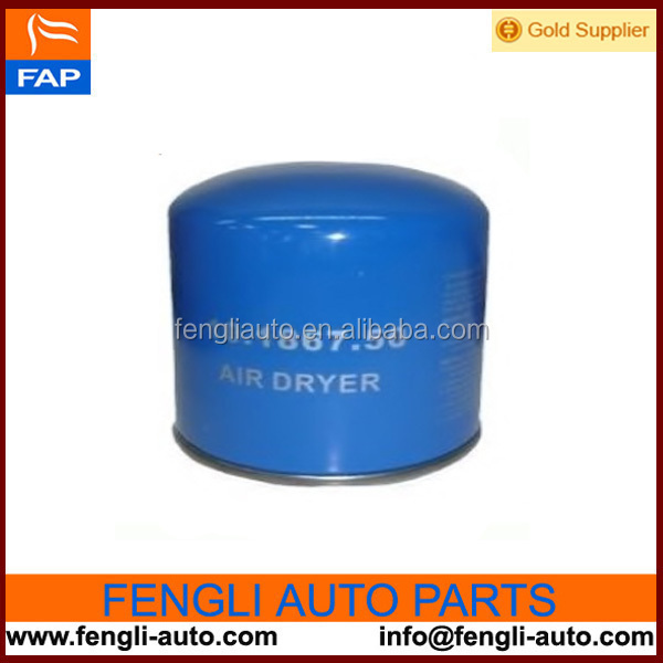 Air Dryer filter 1391510 For DAF Truck Parts with high quality