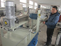 Vacuum cleaner eva spiral soft tube production line