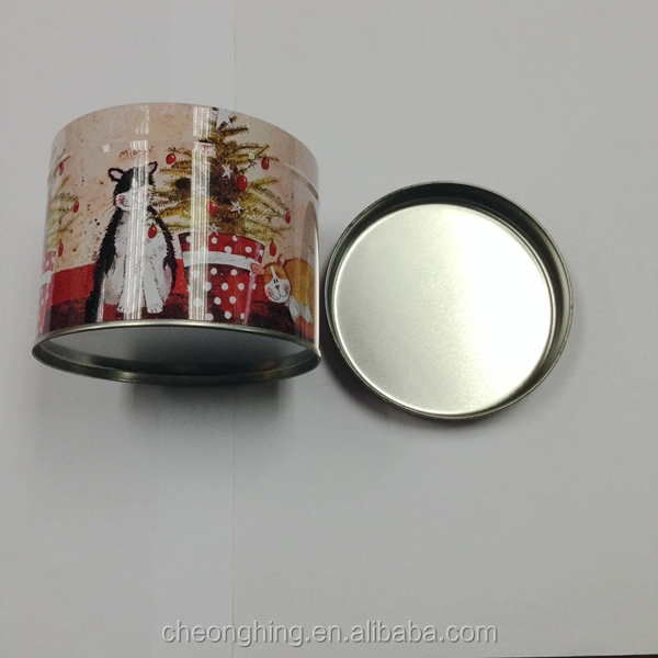 Round tin can for tea,candy,coffee,cookie,stationary, gift