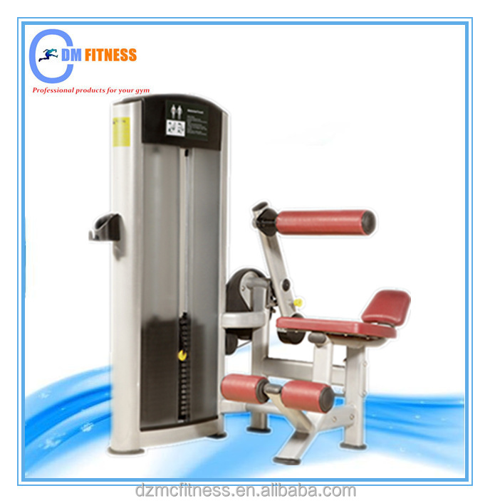 Professional abdominal crunch exercise gym equipment/ Body sculpture fitness products