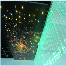 Decorative shinning luxurious car roof star sky starry solid core end lit fiber optic light