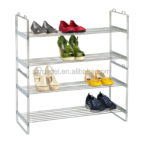 4 Tier Extending Over The Door Shose Rack