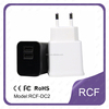 RCF 2.1A dual USB travel adapter for phone and tablet