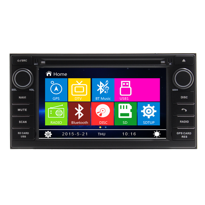 7 inch Car DVD Player GPS Navigation For Nissan NV200 Evalia Livina Geniss 2013 with RDS Steering wheel control Ipod Bluetooth