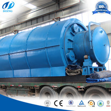 Fast production and delivery for waste tire pyrolysis to oil equipment plant