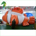 Giant Sky Helium Balloons For Parade , Inflatable Clownfish Balloon For Sale