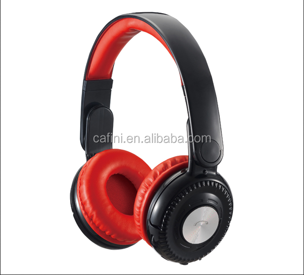 High quality fm headphone, 2016 cool bluetooth wireless headphone