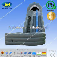 inflatable water slide bouncer, water slide with land, Wild Rapids with Landing