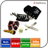 multi-function portable bike bicycle repair kit can hang on the belt
