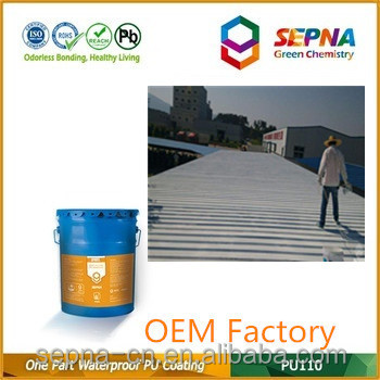 China Factory Building Materials Component Polyurethane Waterproof Coating
