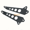 "HANTU low MOQ Jeep JK Wrangler 20"" LED Light bar Steel Metal Hood Mounting Brackets Kit"