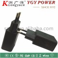 color usb charger efficiency level 6 5v1a for iphone 3g/3gs/4g wall mount adapter with CE