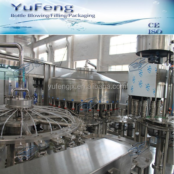 Full automatic non carbonated alcoholic drinks production line