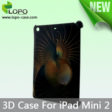 Popular customizable sublimation 3D phone case for ipad mini 2