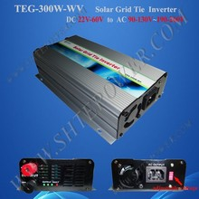 24v/48v to 110v/220v TEG-300W-WV solar power 300 watt grid tie inverter