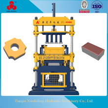 Manual Hand Mini Semi Automatic Auto Brick Bricks Making Machine Factory Price