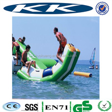 Lake inflatables water games/inflatable water trampoline/Inflatable Floating Trampolines for sales
