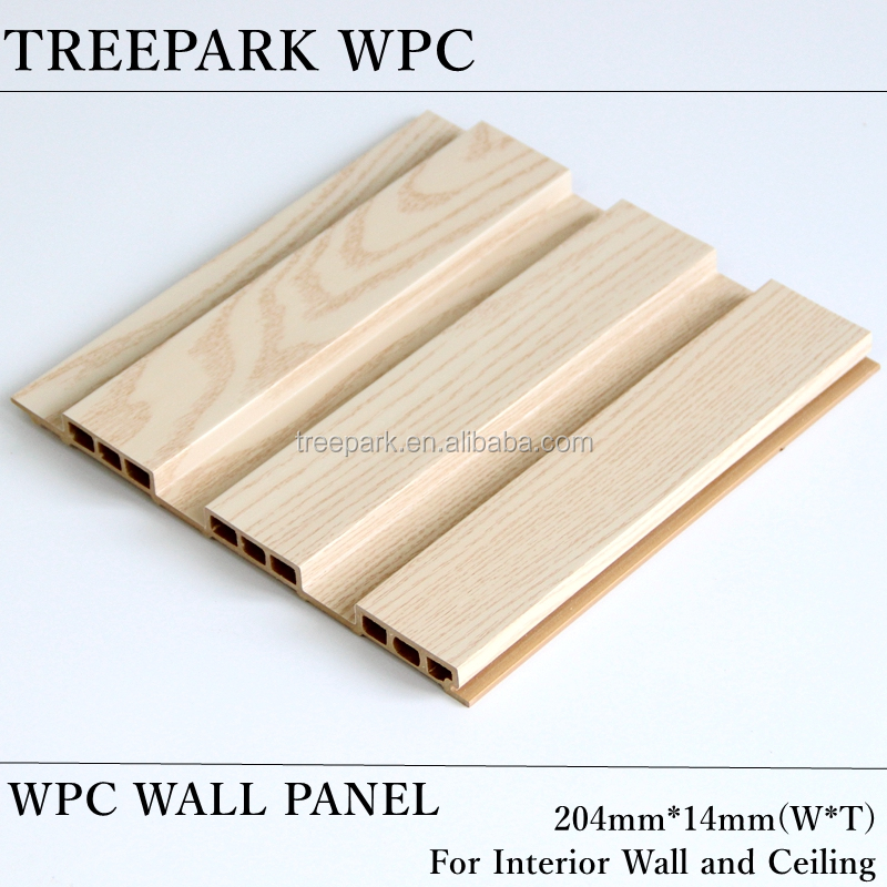 new material wood composite plastic wall for interior decoration