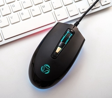 Comfortable Design Wired Mouse Gaming with USB Storage G600