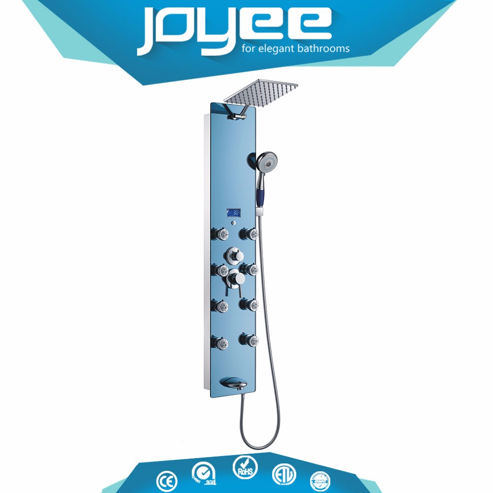 J-706 Multifunctional waterproof hidden shower head camera led shower