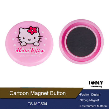 Magnet button for whiteboard table