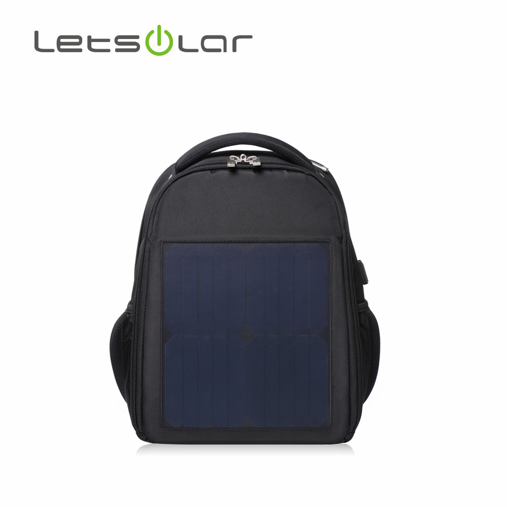 2018 Outdoor portable mobile phone use solar bag pack
