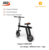10inch electric scooter M series 500w adult 2 wheels alloy folding longrange scooter lithium powered