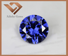 Lab Created Tanzanite Loose Cubic Zirconia Stones CZ AAA