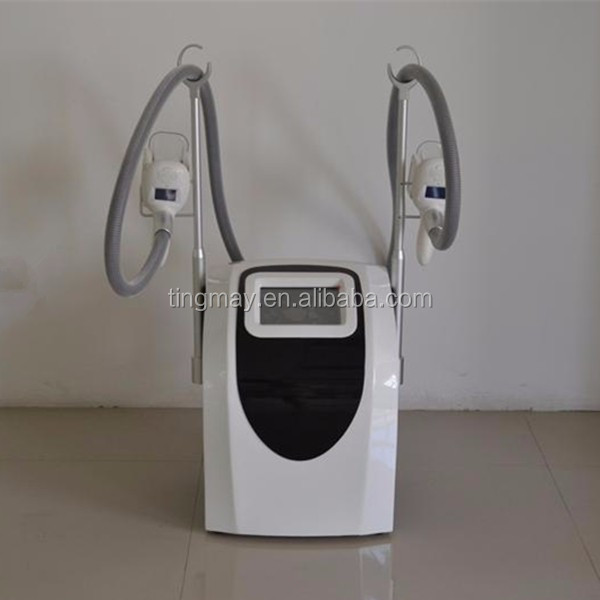 cryolipolysis with double cryo handle fat freezing slimming machine