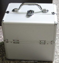 Eminent aluminum jewelry travel case hard abs trolley case JH06D