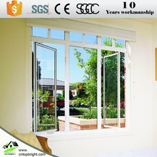 Hot sale french aluminum casement window with price philippines