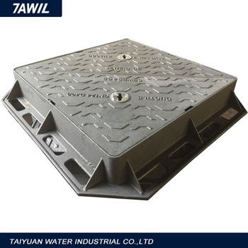 Resin coated Cast Iron Manhole Cover with frame is best selling products