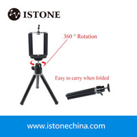 OEM Hot Sales Mini Aluminum Tripod With Remote For iPhone 7