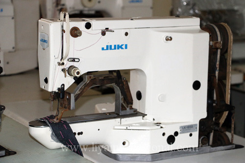 Juki 1850 White Color Old Second Hand Used Juki Bartack Machine Price