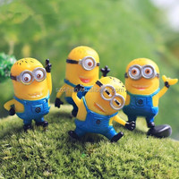 DIHAO On Sale Custom Cartoon Character Plastic Action Figure Despicable Me Minion Action Figure