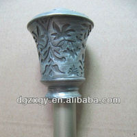 Decorative kids curtain rods