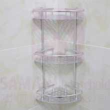 NO nail Wall Mounted Shower Caddy and Shower Holder Corner Basket Bathroom Shelf <strong>Rack</strong>