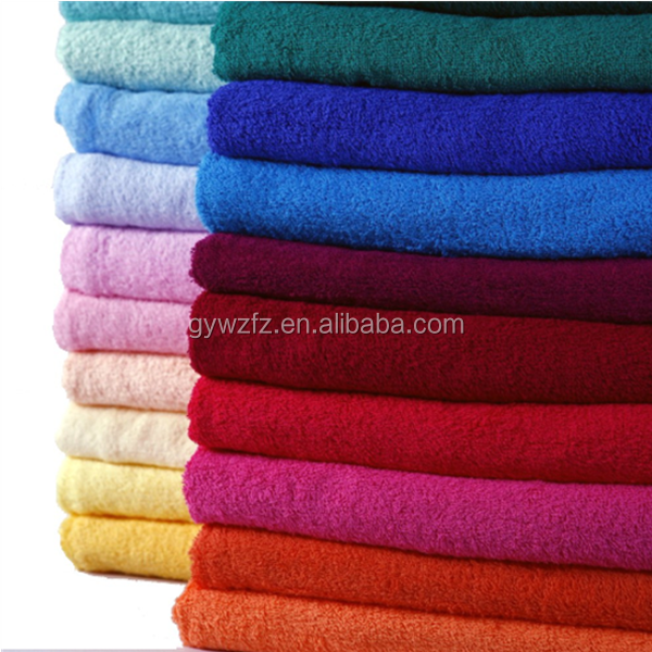70*140cm organic cotton 400gsm plain dyed Turkish bath Towels