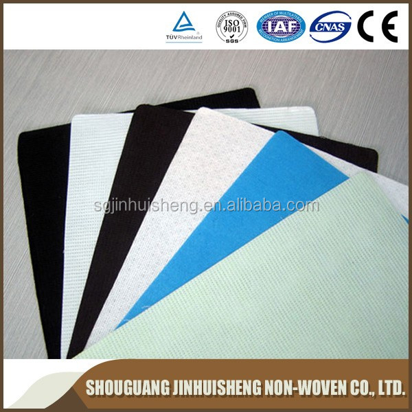 100% polyester print stitch bonding nonwoven fabric in rolls, Roofing Waterproof Stitchbond polyester Nonwoven Fabric
