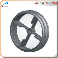 "Industry cast ductile iron handwheel for 2"" operating nut"