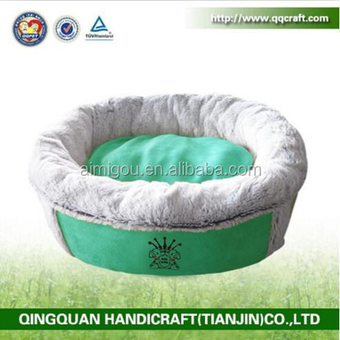 Wholesale various luxury funny dog beds with faux fabric & pet dog sleeping bag bed