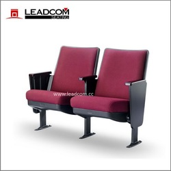 LEADCOM best sale fixed church seat with arm for sale (LS-13601)