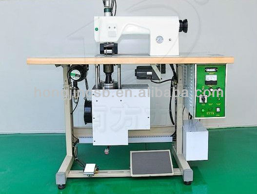 Ultrasonic Sewing Machine to make bags